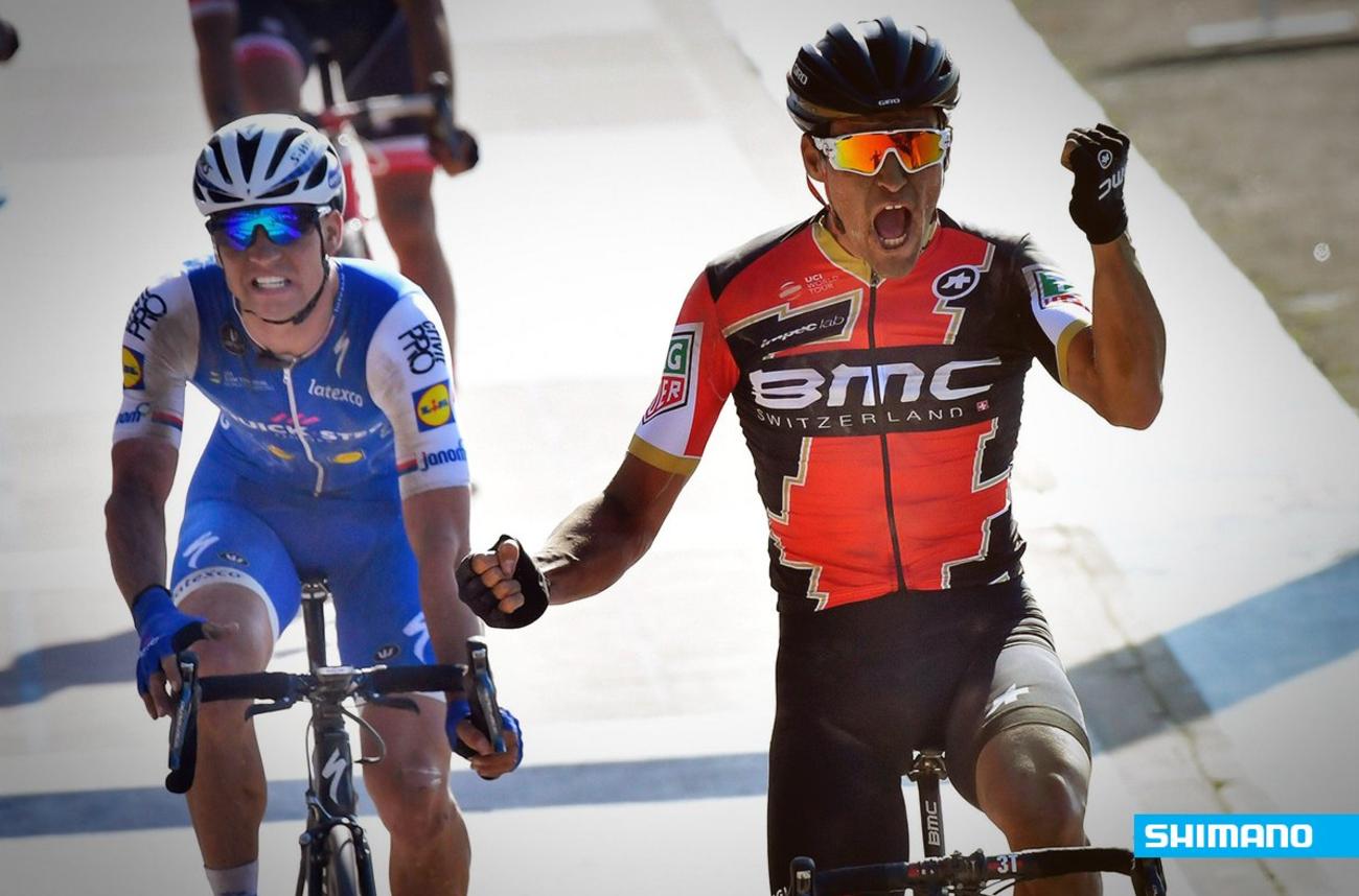 Van Avermaet vince la Roubaix 2017