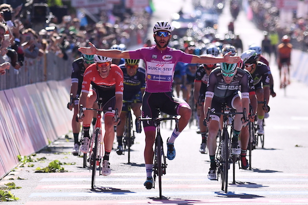 Gaviria ha vinto la tappa 13 del Giro d'Italia