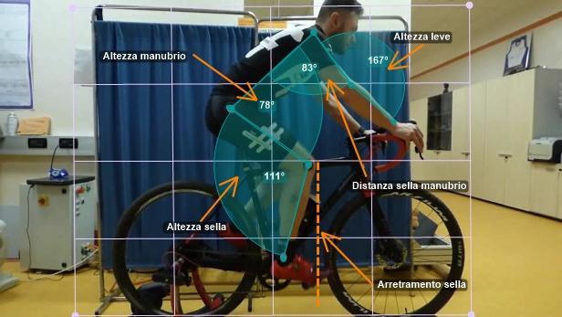 Il corretto posizionamento in bici da corsa