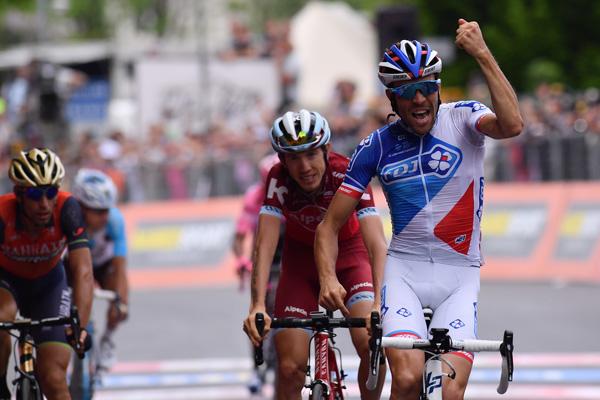 Pinot ha vinto la Tappa 20 del Giro d'Italia, Quintana ancora in Maglia Rosa