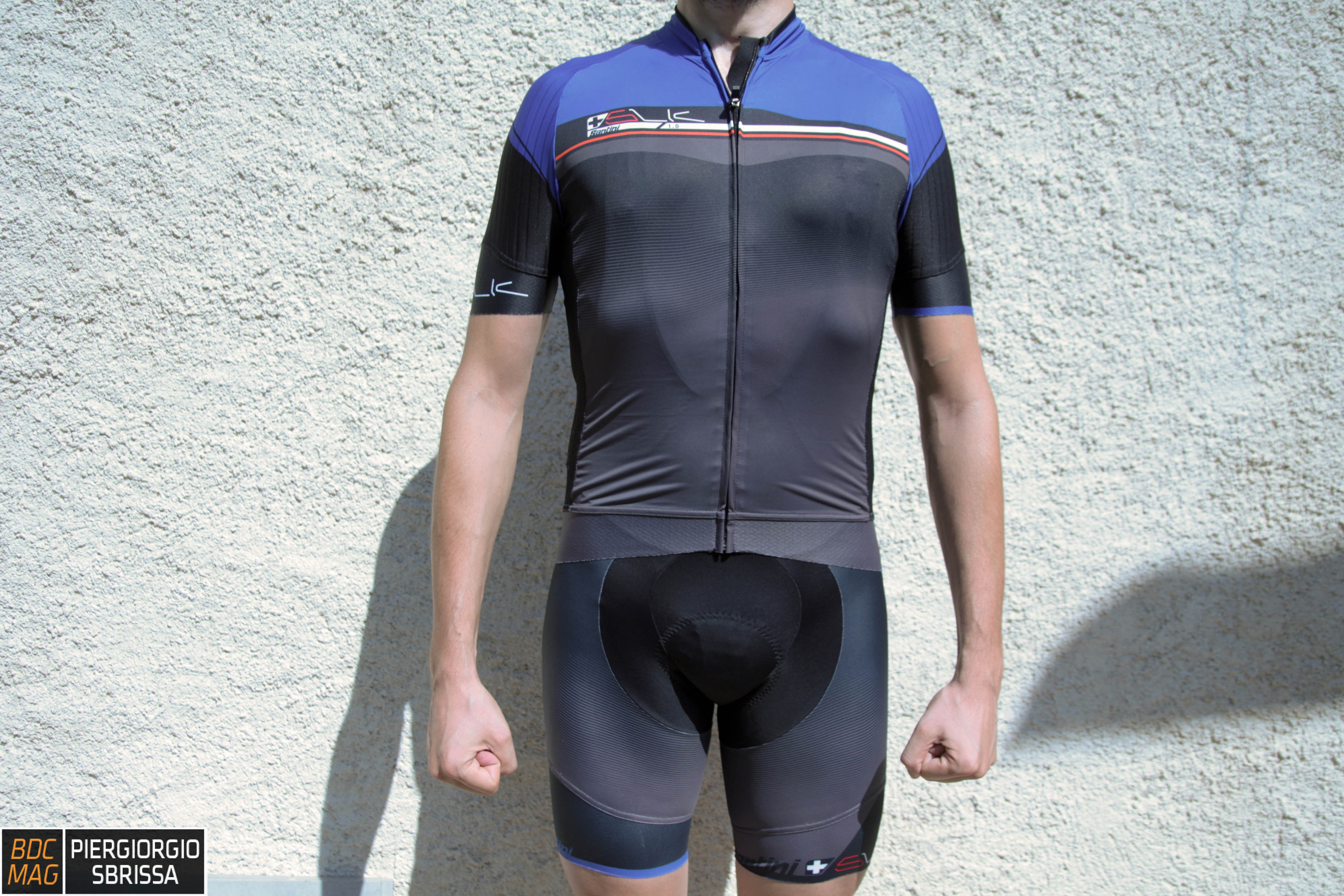 [Test] Santini Sleek Plus maglia e pantaloncini