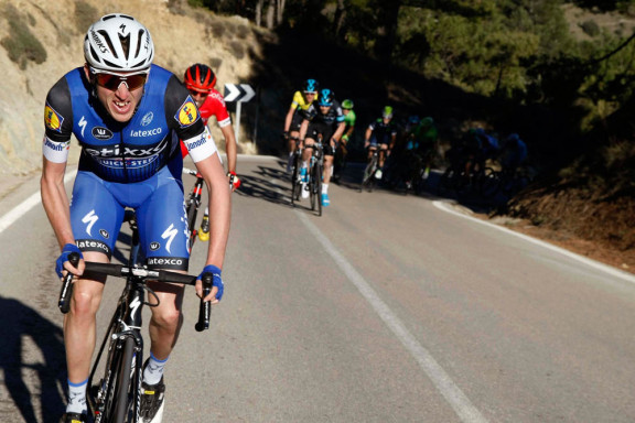 Dan Martin attacks on Stage 2 of the 2016 Tour of Valencia