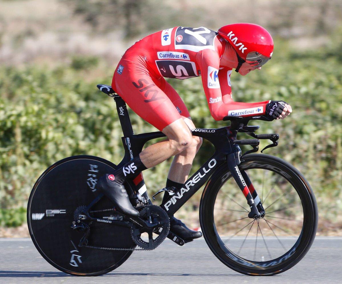 Vuelta 2017 16^ tappa: Froome consolida la maglia rossa