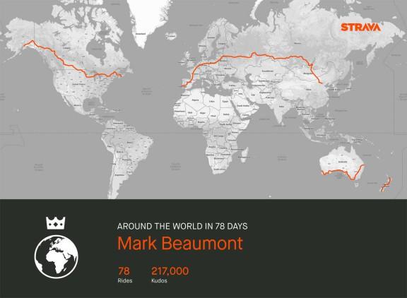 Mark-Beaumont-strava-route