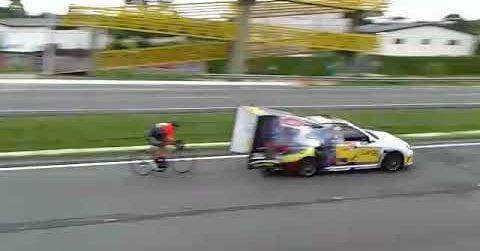 202 km/h in bici
