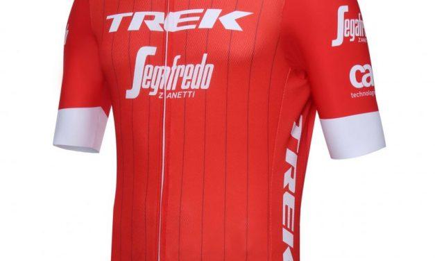 Le nuove maglie del team Trek Segafredo by Santini