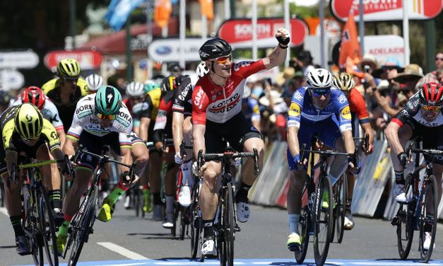 Tour Down Under 2018: Greipel si prende la prima tappa