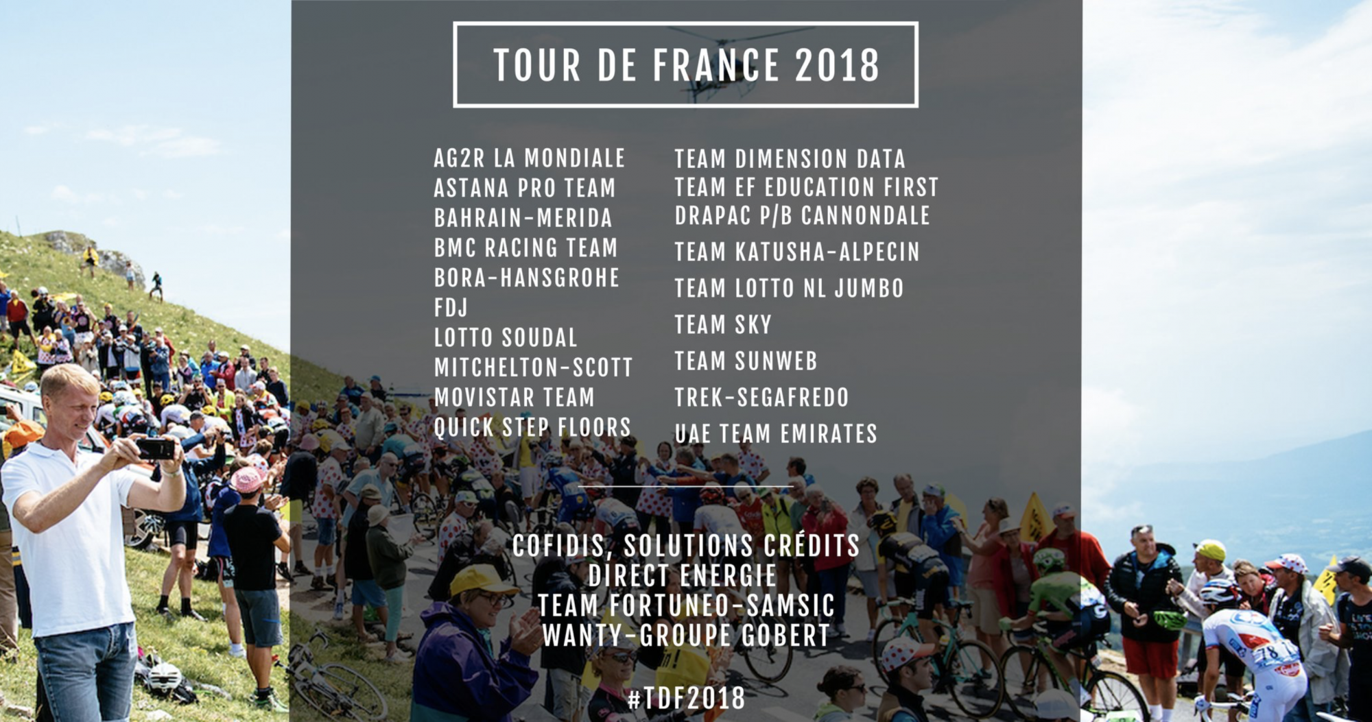 Le WildCards al Tour de France 2018