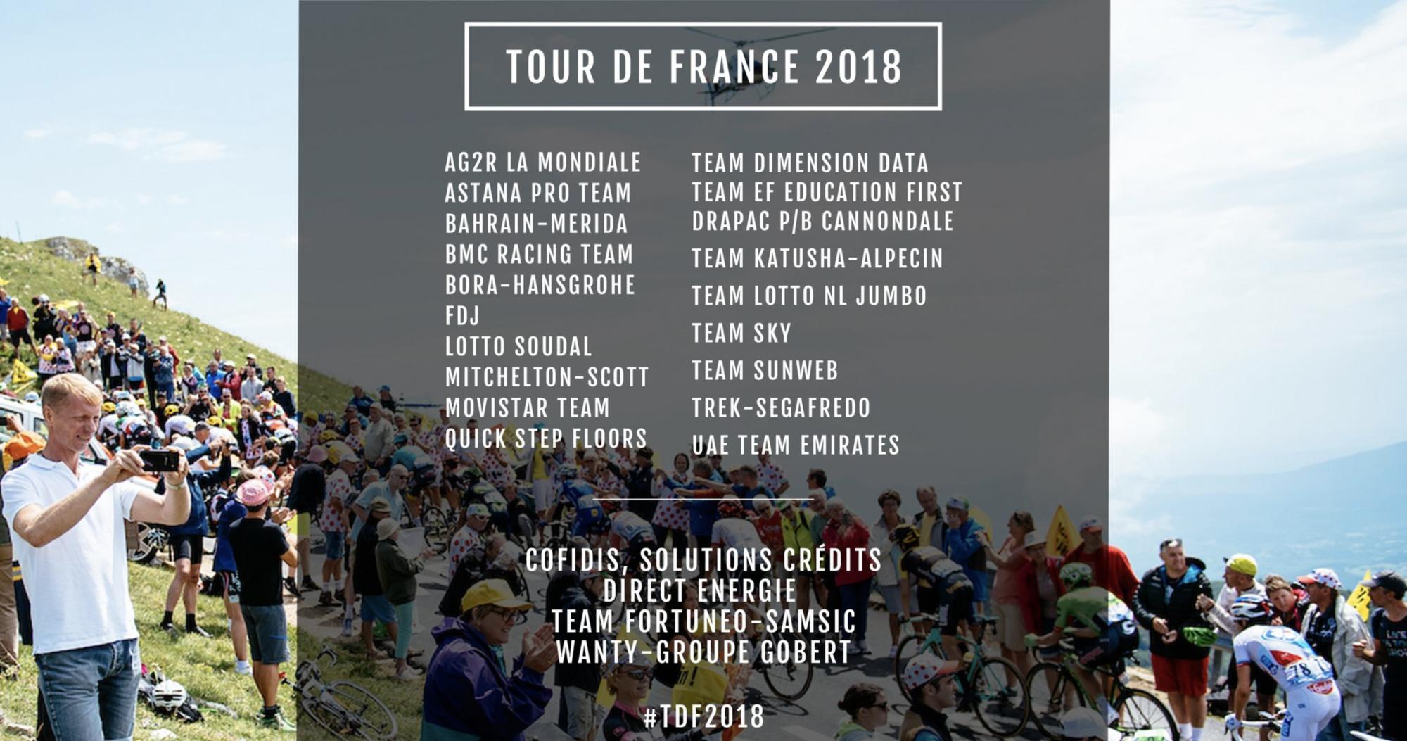 Le WildCards al Tour de France 2018