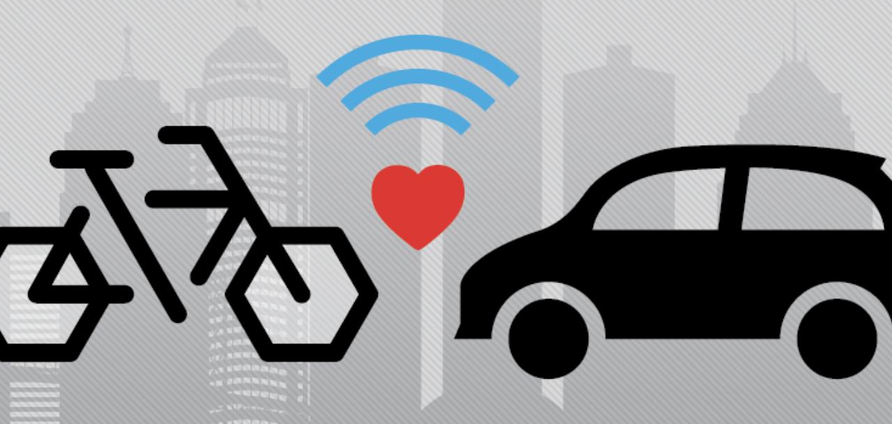 Trek e Tome software: sistema per comunicare tra bici e veicoli
