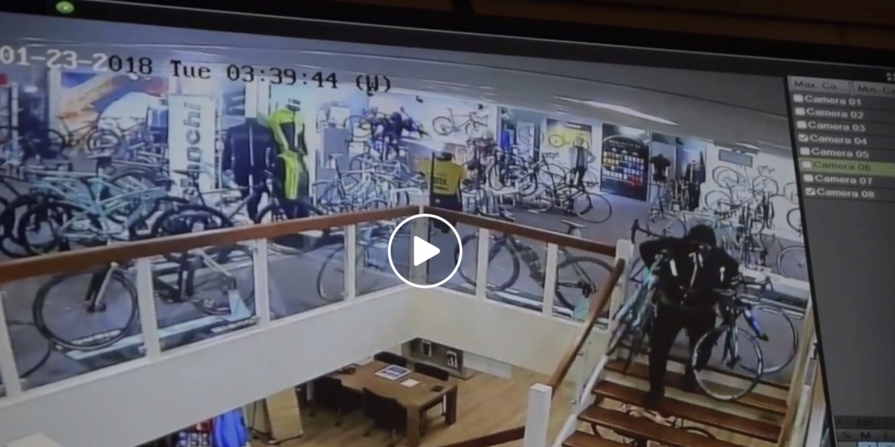 [Video] Come rubare 100.000eu di bici in 3′