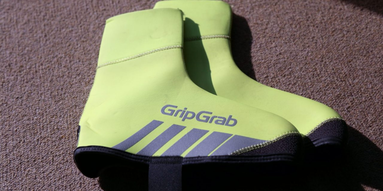 Copriscarpe GripGrab RAceThermo Hi-Vis