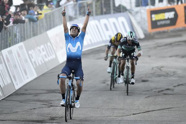 Tirreno-Adriatico 2018: Landa vince sul Sassotetto con dedica a Scarponi