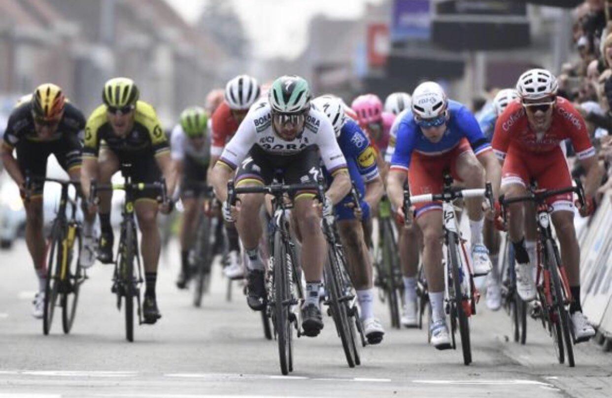 Sagan si impone alla Gent-Wevelgem 2018