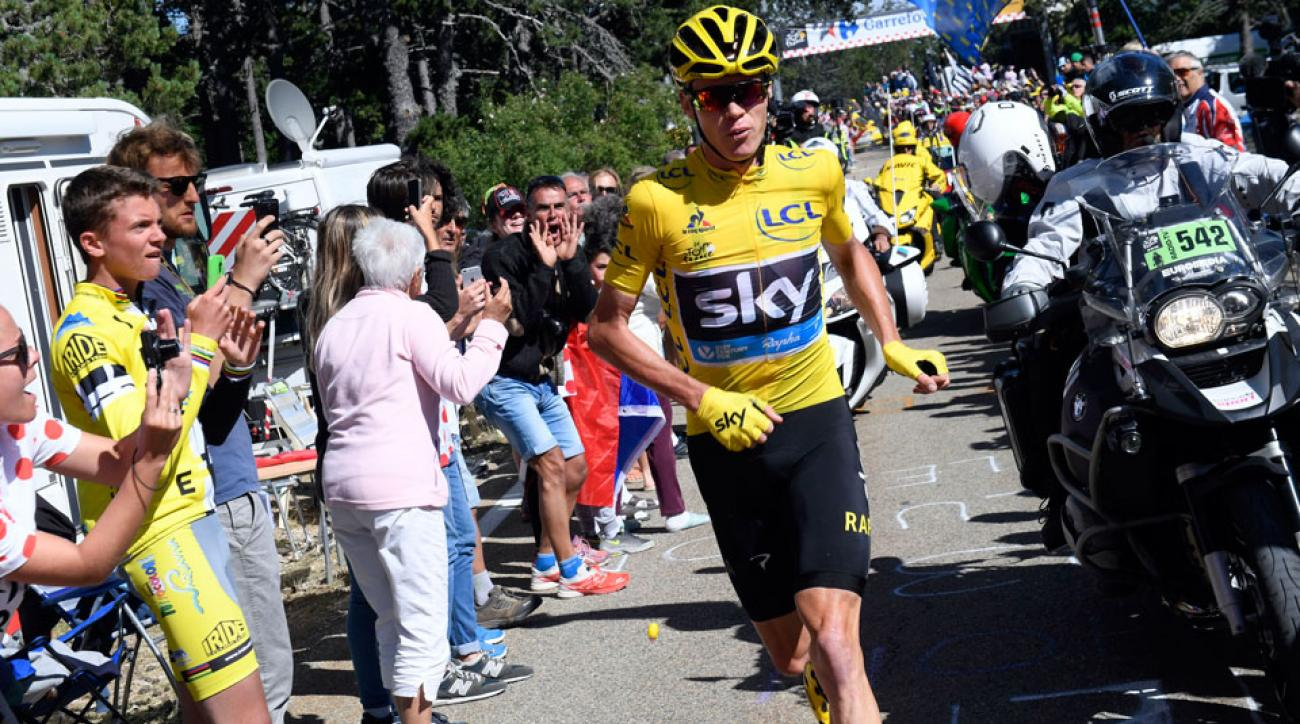 Froome fuori dal Tour secondo Press Association Sport