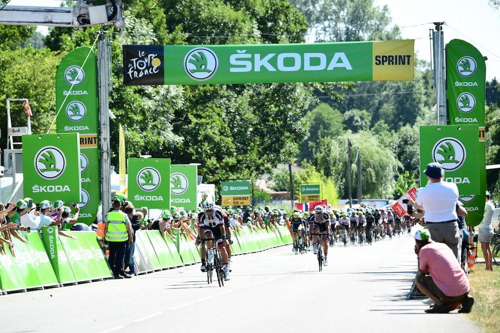 Ritornano gli abbuoni negli sprint intermedi al Tour