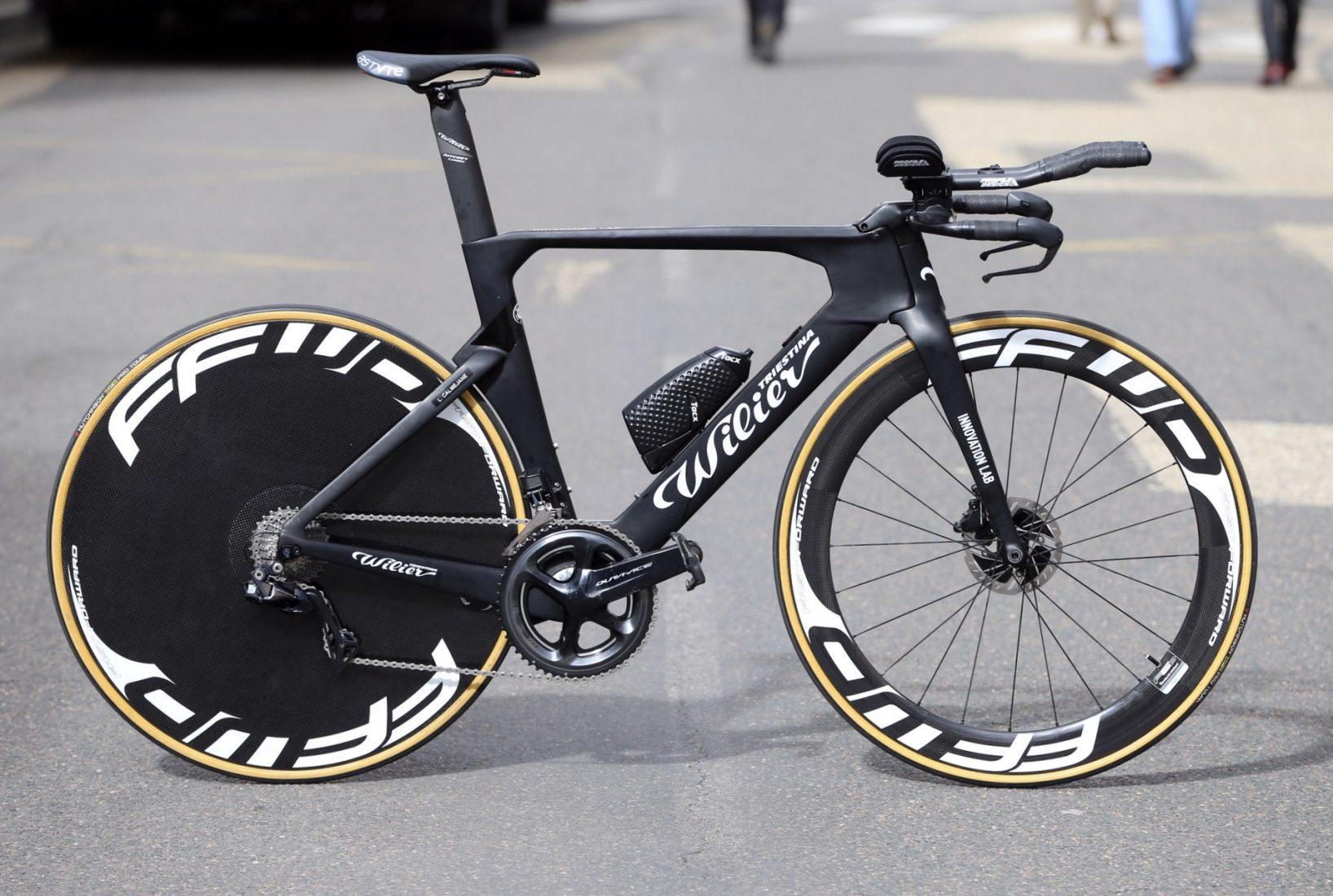 La nuova bici da crono della Wilier-Triestina