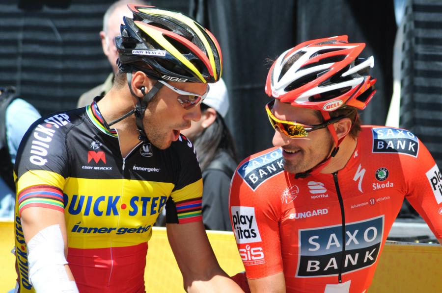 Boonen: Ho un dubbio sul motore di Cancellara