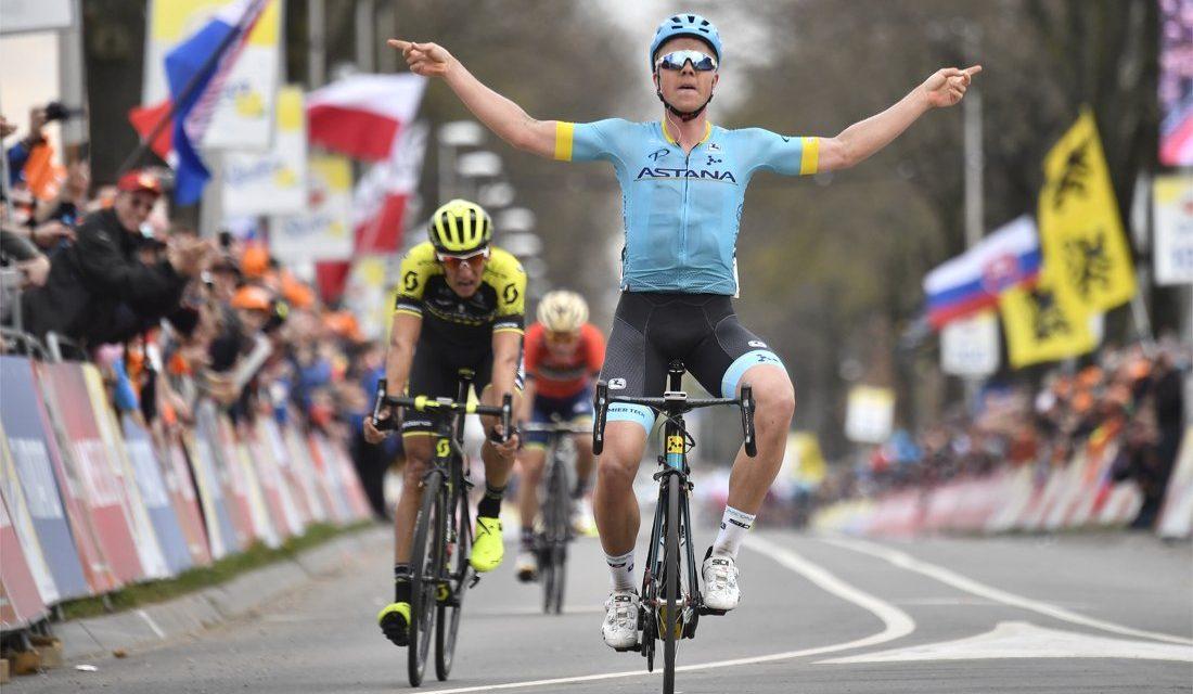 Valgren sorprende i favoriti all'Amstel Gold Race