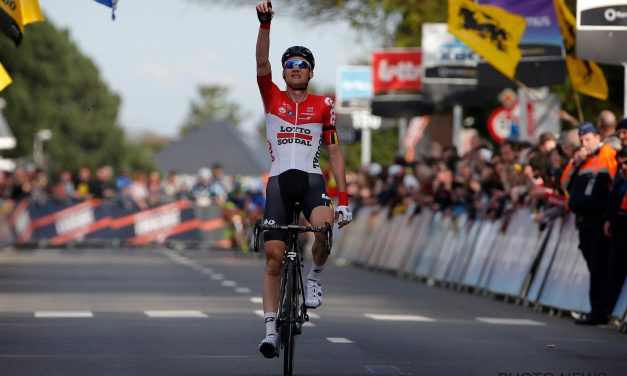 Wellens vince in solitaria la Freccia Brabante