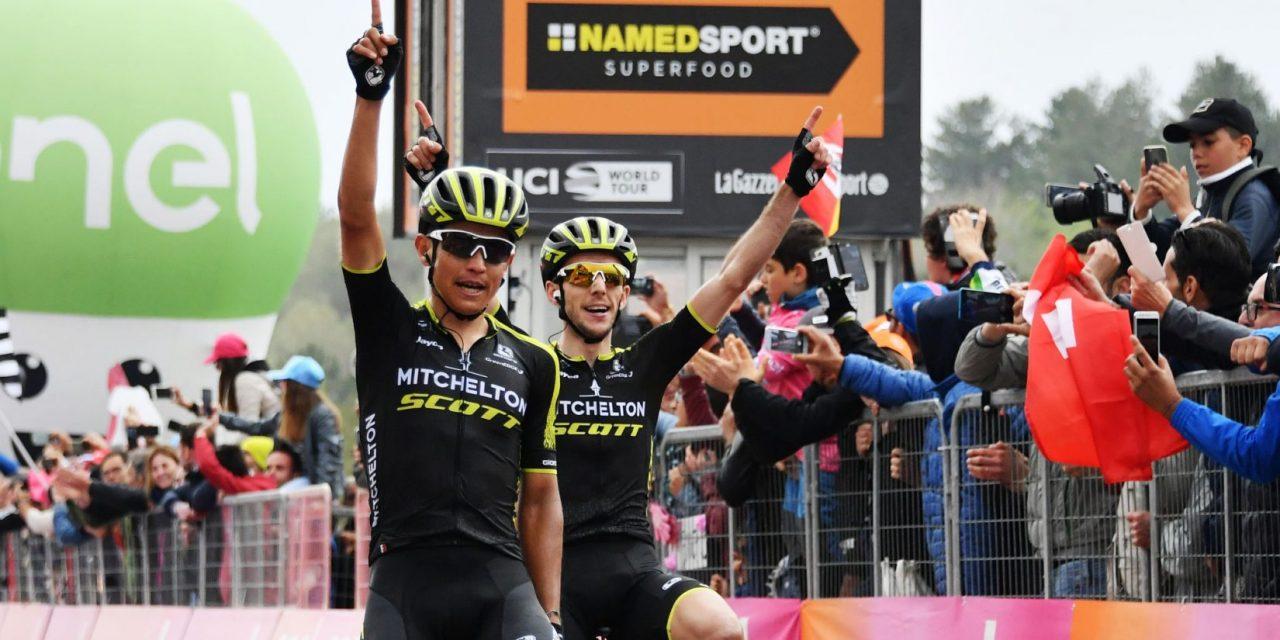 Giro 101: Chaves e Yates – doppietta sull'Etna