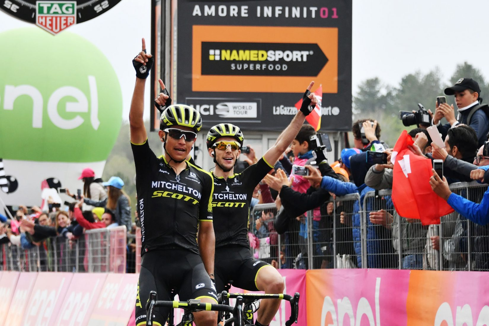 Giro 101: Chaves e Yates - doppietta sull'Etna