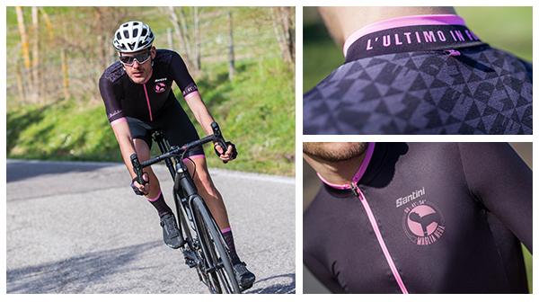 Santini e la linea Maglia Nera ispirata a Luigi Malabrocca, il ciclista che lottava per arrivare ultimo