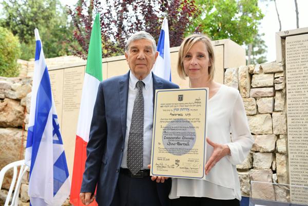 Gino Bartali nominato cittadino onorario di Israele