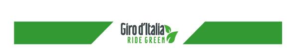 Ride Green, un Giro d'Italia sempre più ecosostenibile