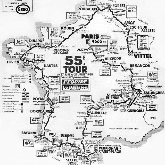 50 anni fa: Tour de France 1968