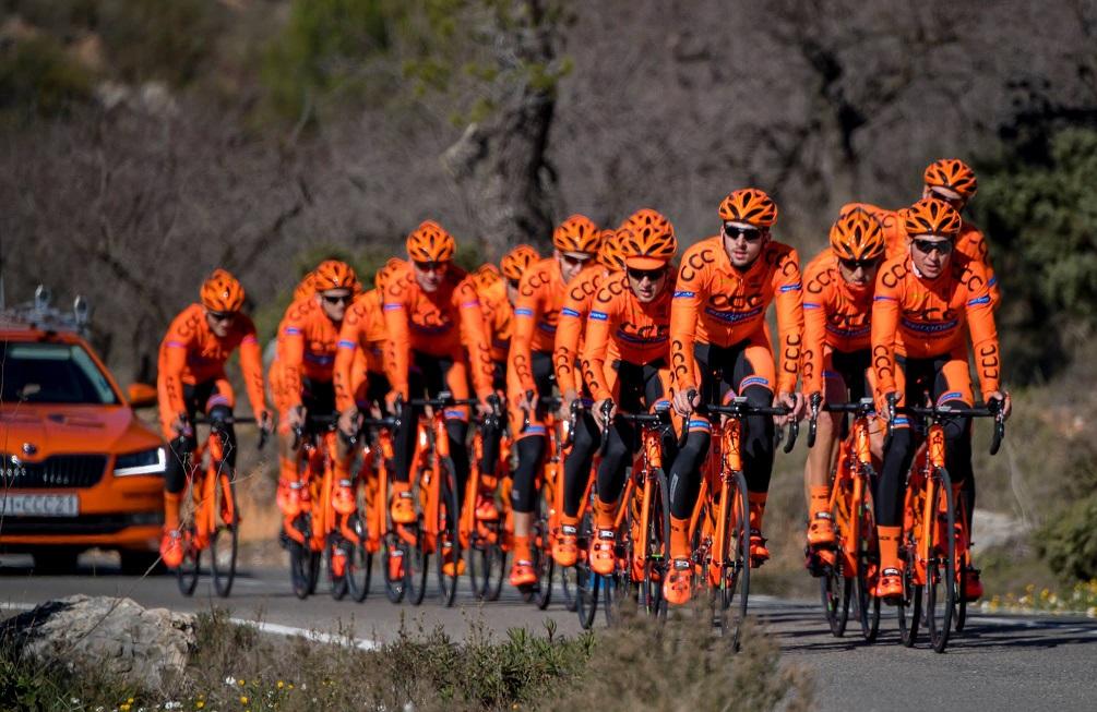 Il Team BMC pronto per diventare Team CCC