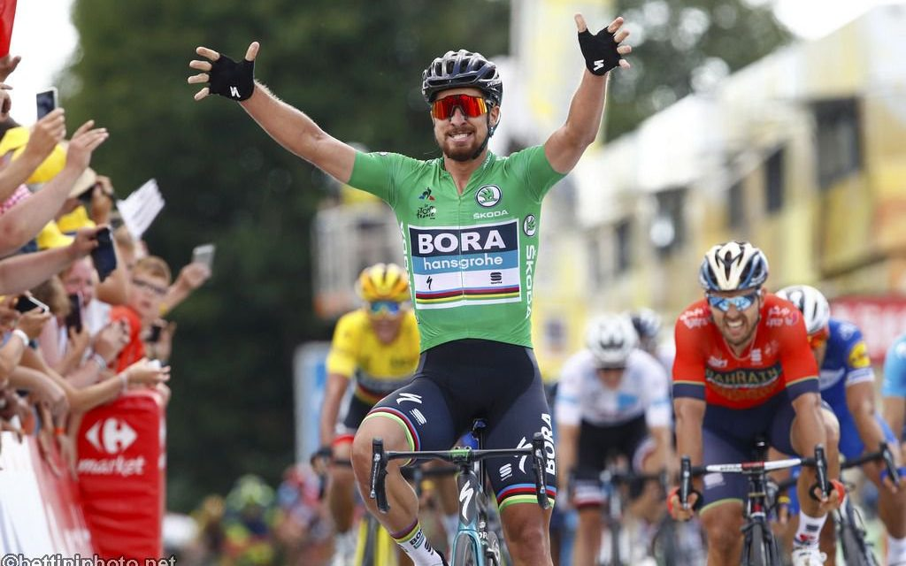 TdF 2018: Sagan vince la seconda
