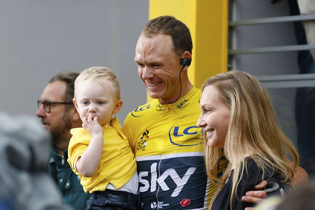 Il Chris Froome uomo normale