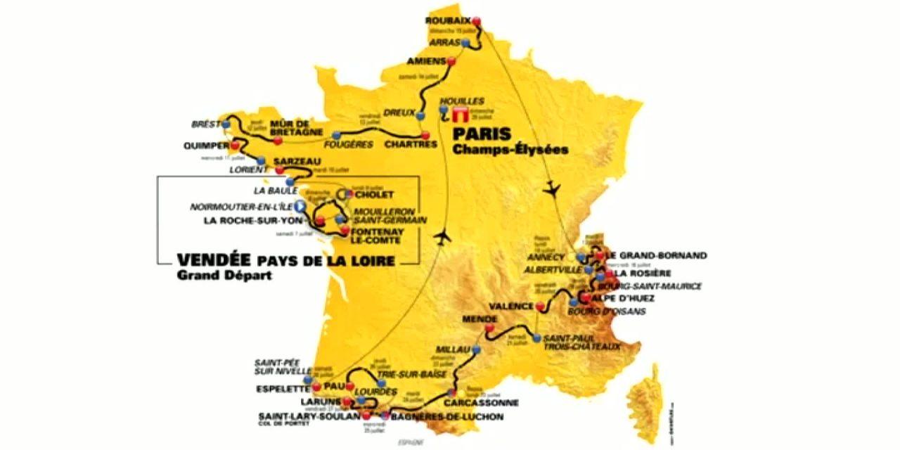 Tour de France: Gaviria prima maglia gialla