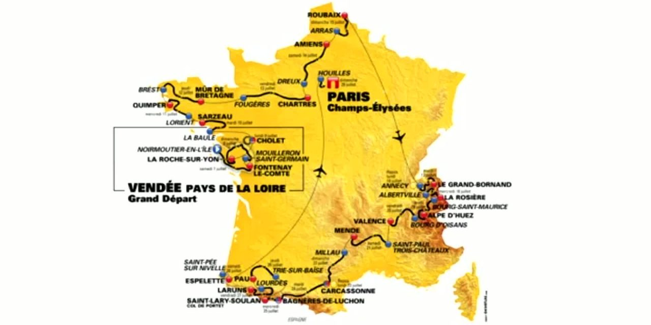 Tour de France 2018: diretta tv su Eurosport