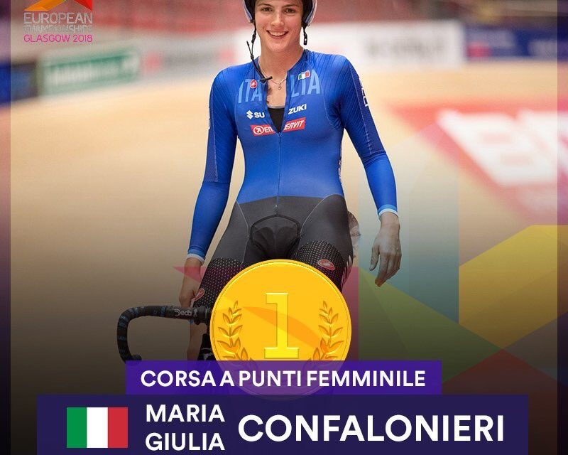 Campionati europei pista 2018: Oro Confalonieri, argento Viviani