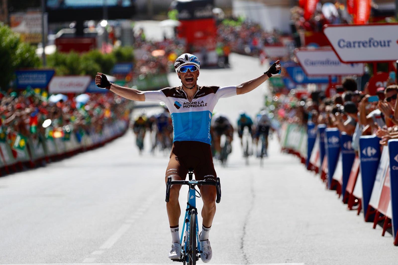 Vuelta 2018: il colpo di Gallopin