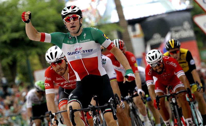 Vuelta 2018: Viviani vince il primo sprint