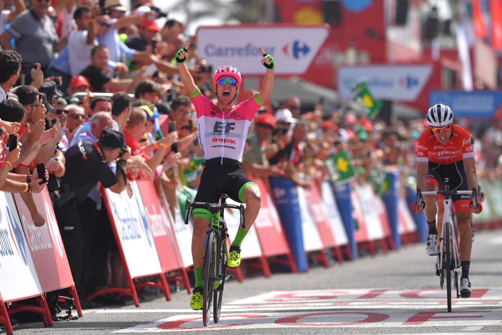 Vuelta 2018: Molard nuovo leader