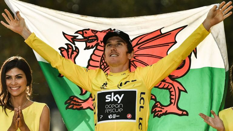 La CCC vuole Geraint Thomas come leader