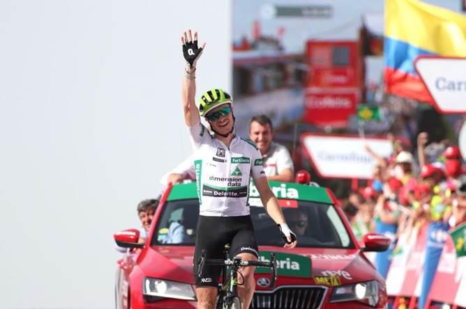 Vuelta 2018: Ben King fa il bis. Yates leader.