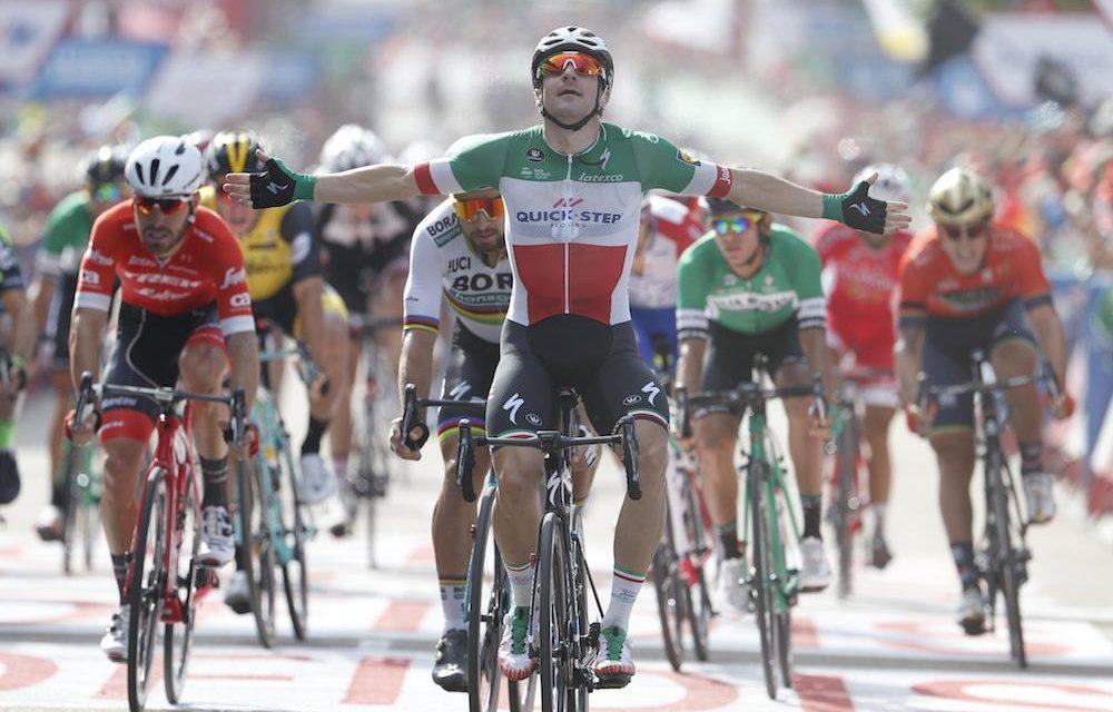 Vuelta 2018, undicesima tappa: De Marchi vince a Ribeira Sacra Luintra