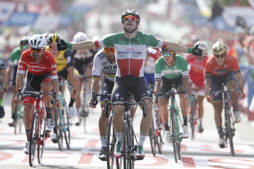 Vuelta 2018: doppietta per Viviani
