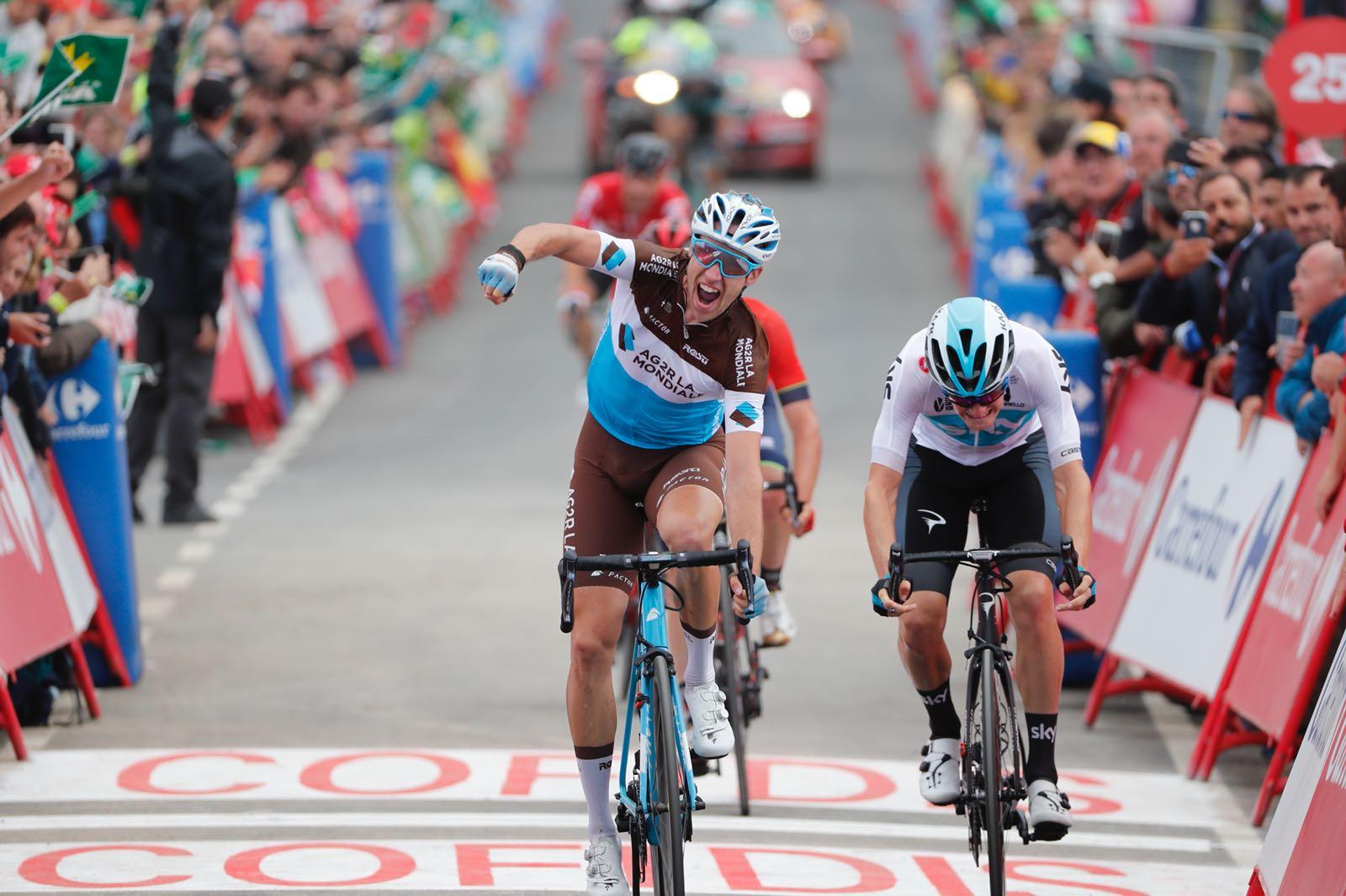 Vuelta 2018: tappa a Geniez, generale a Herrada