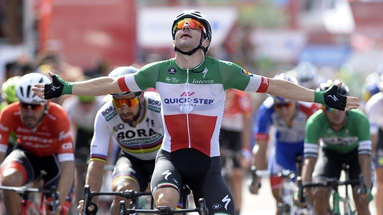 Vuelta 2018: ultima tappa per Viviani. Yates trionfa