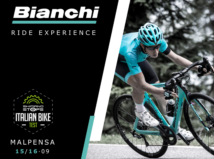 Le novità Bianchi Road, MTB ed e-Bike alla prima tappa di Italian Bike Test