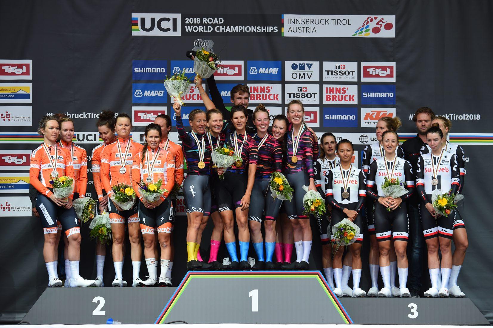 Innsbruck 2018: la Canyon-SRAM campione del mondo cronosquadre