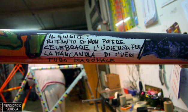 Visita a Dario Pegoretti. 10 anni fa