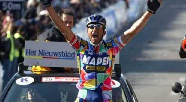 Andrea Tafi vuole correre ancora la Paris-Roubaix a 52 anni