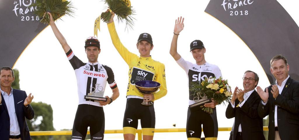 Rubato il trofeo del Tour di Geraint Thomas